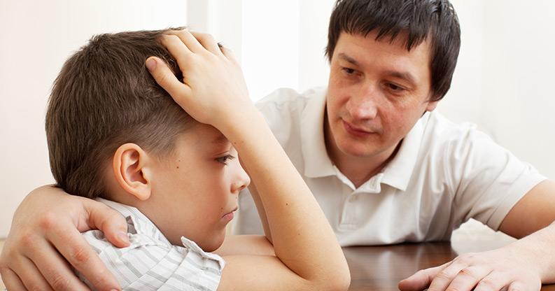 Mit dem Kind über die Trennung sprechen