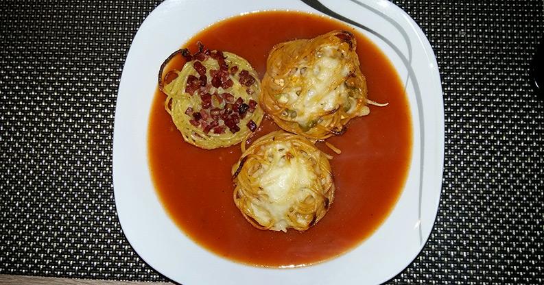 Spaghetti Muffins – Nudeln einmal anders!