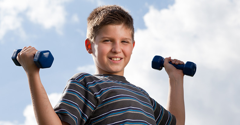 Wenn Kinder mit Fitness anfangen wollen